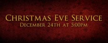 Brad Wheeler - Christmas Eve Devotional 2020 Image