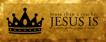 More Than A Teacher, Jesus Is...