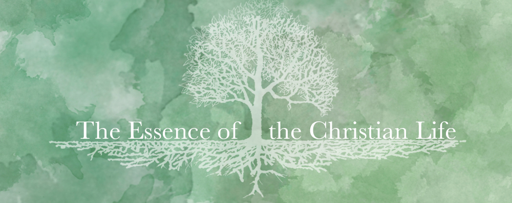 The Essence of the Christian Life